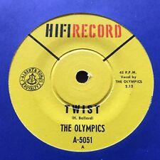 "THE OLYMPICS - - THE TWIST - Rare 1962 Australian HIFI 7"" Funk Soul"