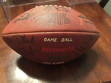 Washington Redskins Game Used Presentation Football First Ever Meeting W/ Jets