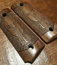Compact 1911 Walnut Wood Grips - Spartan 3 Percenter