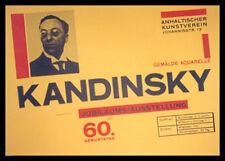 Herbert Bayer Kandinsky Ausstellung Poster Bild Kunstdruck im Alu Rahmen 59x84cm