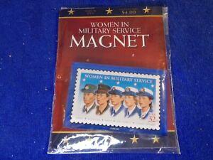 Women in Military Service U.S. Allegiance Inc refrigerator magnet