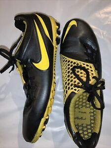 Nike Mens, Rare, Nike Bomba 5 Finale, 415118-070 Blue Yellow Soccer Shoes Sz10