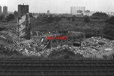 PHOTO  1979 DEMOLITION IN SOUTH-EAST LONDON IN 1979 THE LANDSCAPE OF SOUTH-EAST