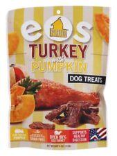 Plato Pet Treats 4oz EOS TURKEY and PUMPKIN Natural USA Dog Treats New Sealed