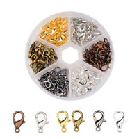 10/12/14mm Jewelry Loose Lobster Claw Clasp For Necklace Bracelet Making DIY