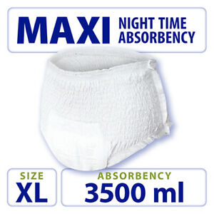 Extra Large Tendercare-Nateen Maxi Night Absorbency Incontinence Pull Up Pants