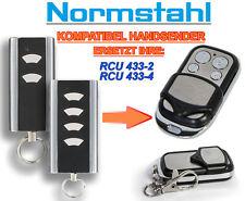 Normstahl RCU433-2, RCU433-4 compatible émetteur de remplacement de télécommande