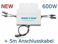 Envertech EVT500 Wechselrichter Micro 600W Plug&Play Solar PV +5m Anschlusskabel