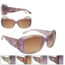 Womens Designer Eyewear Fashion Sunglasses Multicolored Wrap