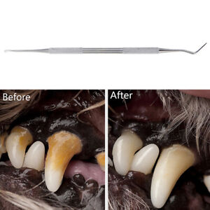 Pets Teeth Cleaning Tools Double Sided Dogs Cats Tartar Remover Pet Supplies DF