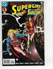 SUPERGIRL PLUS SHAZAM #1  KEY COMIC AUCTION pj222
