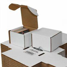 Bundle of 50 - 200 Count Cardboard Baseball Trading Card Storage Boxes