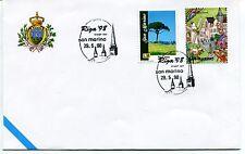 1998-05-29 San Marino Riga '98 stamp day ANNULLO SPECIALE Cover