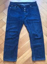 Vintage 1998 Helmut Lang Mens Jeans, Vintage Cotton, Ivory, Size 34