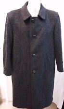 giacca jacket cappotto uomo loden lana taglia 52
