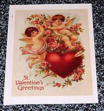 1991 ST VALENTINE Greeting,Current INC Post Card 15 cents Postage Buffalo Bill