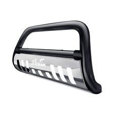 "Westin 2.5"" Ultimate Black Bull Bar w Brushed Skid Plated For 07-11 Dodge Nitro"