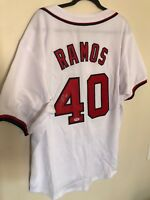 Wilson ramos Autographed Washington Nationals Jersey