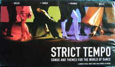 STRICT TEMPO NEW 4 CD SALSA,TANGO,MAMBO + WALTZ  ~ BALLROOM DANCING MUSIC