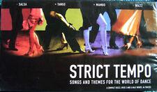STRICT TEMPO NEW 4 CD SALSA,TANGO,MAMBO + WALTZ  ~ BALLROOM DANCING MUSIC