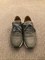 wings horns Leather shoes Men's Size41  Color: Olive