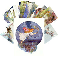 Postcards Pack [24 cards] Fairy Tale Vintage Illustrations by HT Robinson CC1128