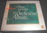 DAVE GRUSIN rare CD the ORCHESTRAL ALBUM lee ritenour THREE DAYS OF CONDOR
