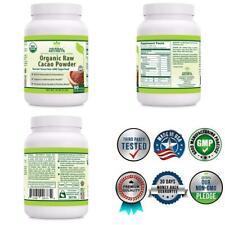 Herbal Secrets USDA Certified Organic Raw Cacao Powder 16 Oz (1 LB)...
