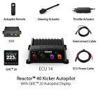 Garmin Reactor 40 Kicker Autopilot with GHC 20 Autopilot Display 010-00705-94