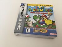 Super Mario World: Super Mario Advance 2 (Nintendo Game Boy Advance, 2002) NEW