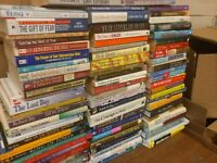 Lot of 20 PSYCHOLOGY SELF HELP ESTEEM THERAPY RECOVERY INSPIRE Book MIX*UNSORTED