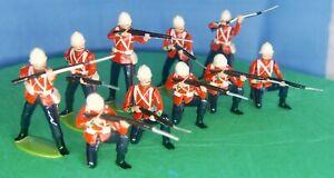 Zulu War 1889 British 24th Foot Rorke's Drift or Isandlwana Defense, WESSEX?