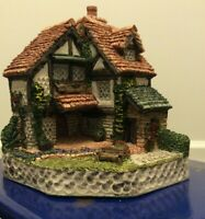 1995 David Winter Cottages Collectors Gardener's Cottage COA +Orig Box Vintage