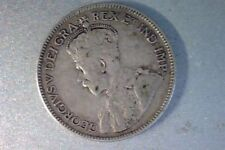 1935 Canada Silver 25 Cents , Key Date - Low Mintage