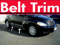 Chrysler PT CRUISER CHROME SIDE BELT TRIM DOOR MOLDING 2001-2008 2009 2010
