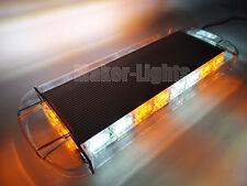 """21.6"""" LED Emergency Beacon Flash Wrecker Truck Warn Strobe Amber White Light Bar"""