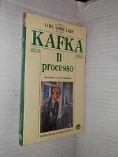 IL PROCESSO Franz Kafka Giulio Raio Newton 1999 romanzo narrativa libro racconto