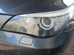 BMW 5 SERIES LEFT HEADLIGHT E60/E61, HALOGEN TYPE, 03/07-04/10