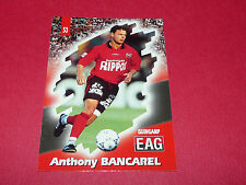 PANINI FOOTBALL CARD 98 1997-1998 A. BANCAREL EN AVANT GUINGAMP EAG ROUDOUROU