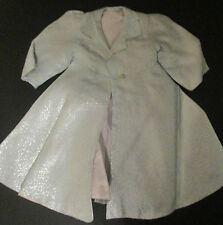 Doll Terri Lee Clothing Blue Lame Long Coat Tagged 1950s