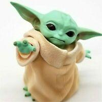 Star Wars Baby Yoda Grogu Toy Action Figure Display Decor The Mandalorian 8cm