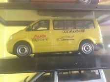 VW VOLKSWAGEN TRANSPORTER AUDI SPORT RS 5 DTM 1/43 MODELCAR IN BOX