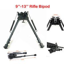 9-13 inch Air Rifle Precision Hunting Shooting Bipod Adjustable Swivel Gun Rest