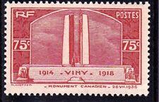France 1936  - YT 316 Timbre neuf** VIMY