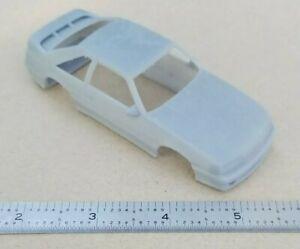 ECONOMY FINISH 3D PRINTED 1/43 1993 FORD MUSTANG SVT COBRA R BODY. SLOT CAR