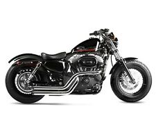 04-13 SPORTSTER XL RINEHART CROSS BACKS CHROME W/ BLACK END CAPS 400-0300