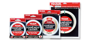 Yo-Zuri Top Knot Fluorocarbon 30 yards- pick color and line test - free ship