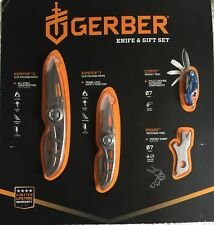 4pc Gerber Knife Set