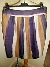 STUNNING HOBBS Linen Tulip Skirt UK 12 New With Tags