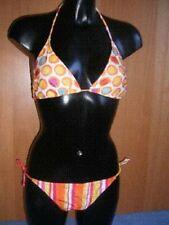 Unbranded Spotted Polyamide Halterneck Swimwear for Women